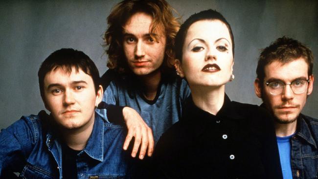 The Cranberries circa 1996.