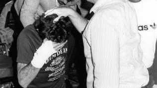 Neville Towner after his 1989 arrest.