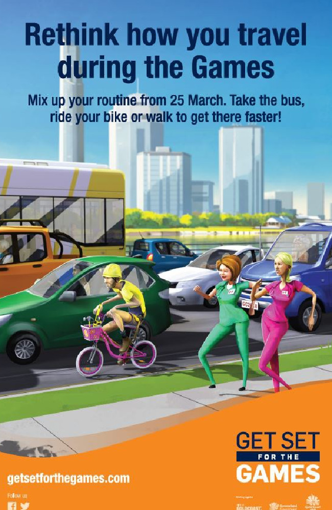 Get Set for the Games has unveiled its marketing campaign to promote smart travel planning during the Commonwealth Games.