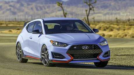 Hyundai's hottest hatch: The Veloster N. Picture: Supplied.