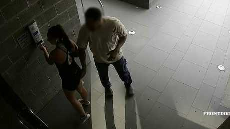 Jesse Ratu was stunned when a man allegedly touched her buttock without permission. Supplied from Facebook