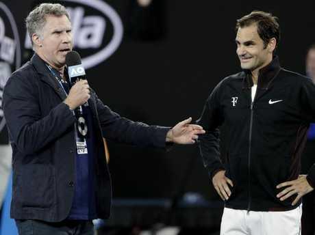 Roger Federer receives note from Ken Rosewall at every Australian Open