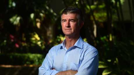 Queensland LNP Deputy Leader Tim Mander said he was open to weaker gun laws if there was no increased risk to public safety. Picture: Evan Morgan