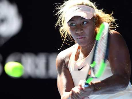 Teenage star Destanee Aiava has seen her power game compared to Serena Williams. Picture: AAP