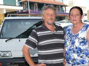 Couple furious after hire car stolen, crashed on holidays