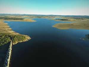 Blue-green algae levels reach 'amber' level at Leslie Dam