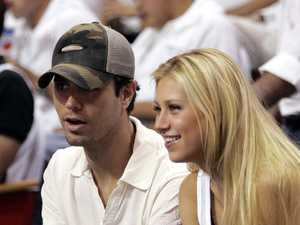New parents Enrique Iglesias and Anna Kournikova have shared the first photos of their adorable twins.