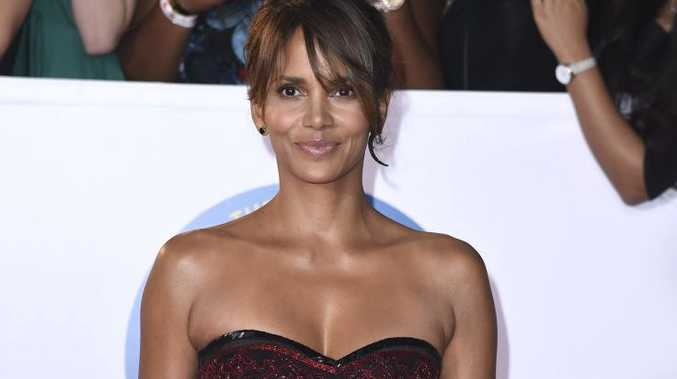 Halle Berry arrives at the 49th annual NAACP Image Awards at the Pasadena Civic Auditorium in Pasadena, Calif.