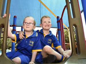Mater Dei Primary School twins