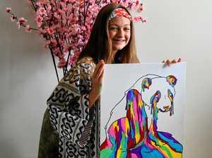 Art to fund Hayley's Japan trip