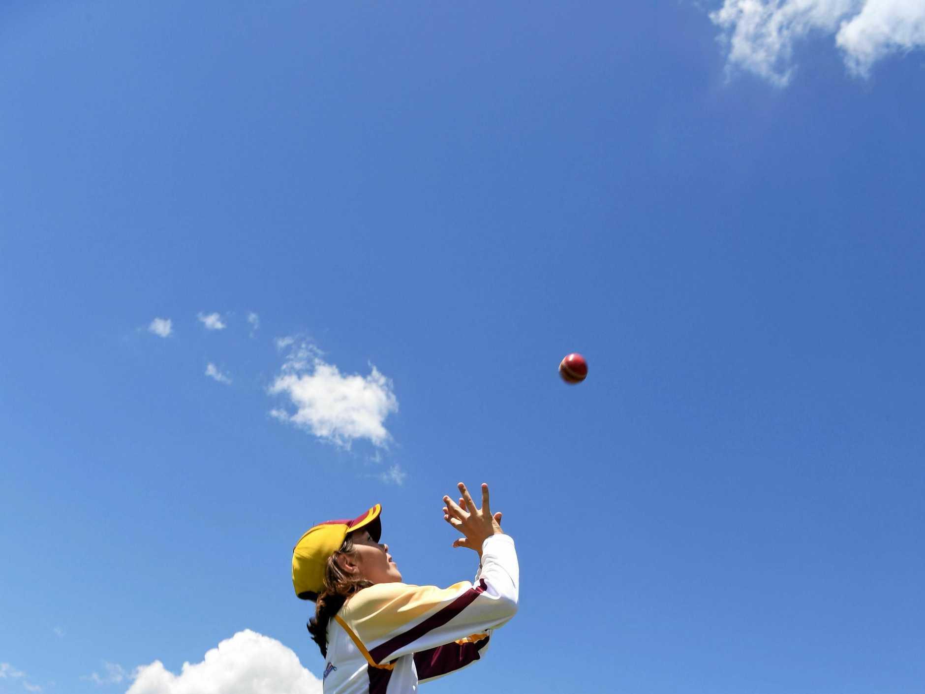 CRICKET BIG BASH: Lucy Hamilton at Salter Oval.