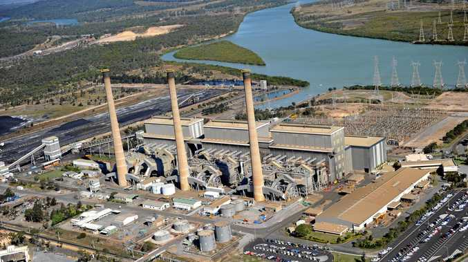 THESE POWER STATIONS BE TRIPPING: An aerial view of Gladstone Power Station.