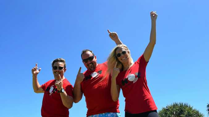 Hot 91.1 hosts Dave, Sam and Ash are gearing up for the fifth annual Fire in the Sky event at Cotton Tree Park on Saturday, January 20.