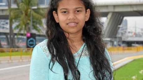 NON-STOP: Nethmini Alahakoon has been recognised for her outstanding volunteer work.