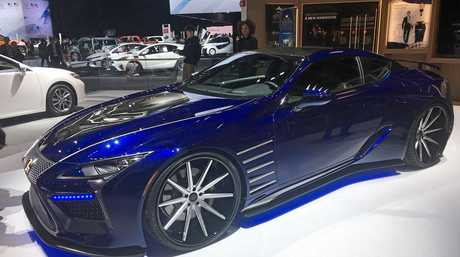 The Lexus LC500 will feature in the upcoming Marvel movie, Black Panther.
