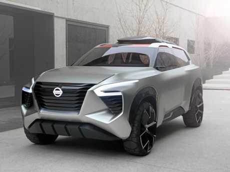 The Nissan Xmotion Concept car unveiled at the 2018 Detroit motor show.