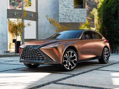 The Lexus LF-1 crossover concept.