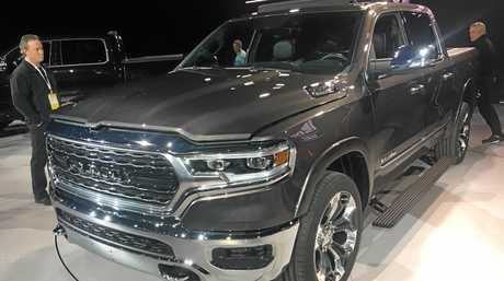 The new Ram 1500 truck revealed at the Detroit motor show.