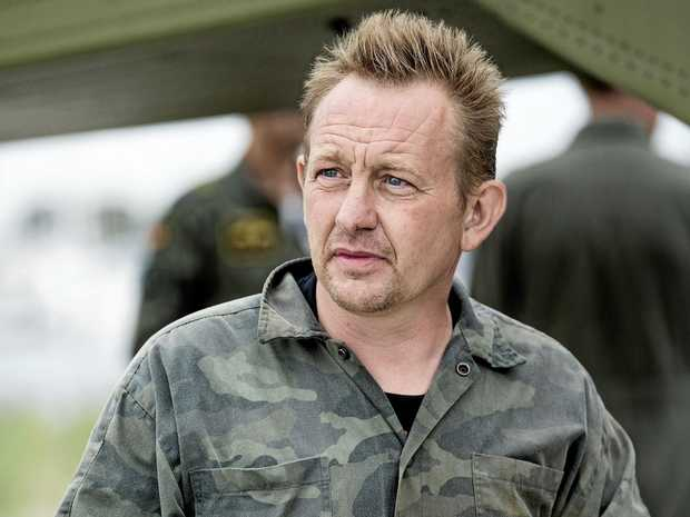 Danish submarine owner and inventor Peter Madsen is pictured on August 11 last year after landing with the help of Danish defence personnel in Dragor Harbor, south of Copenhagen, Denmark.