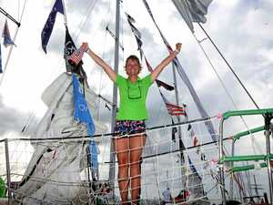 Clipper racers arrive to the Whitsundays in style