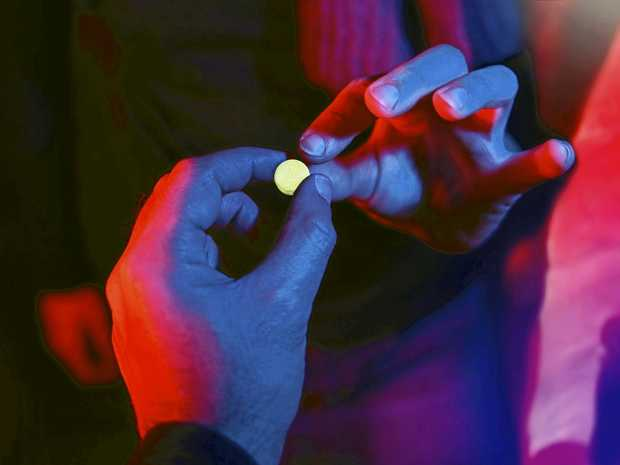 An 18-year-old was caught with 25 MDMA capsules he claims he was holding for a friend.