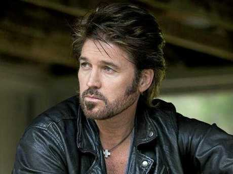 Country music singer Billy Ray Cyrus. Supplied by Sony Music.