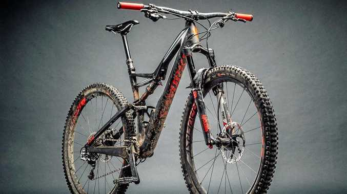 An S-works brand Stump Jumper was among the high end mountain bikes stolen from the Sawtell area.
