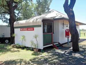 Hannaford's post office is one of the smallest in QLD