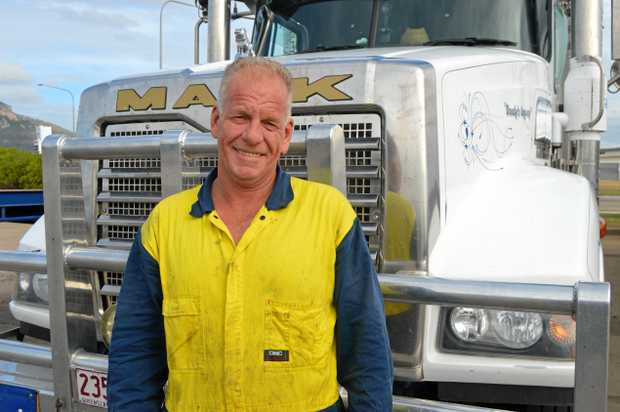 FED UP: Paul O'Meara owned a trucking business in Warwick for 11 years.