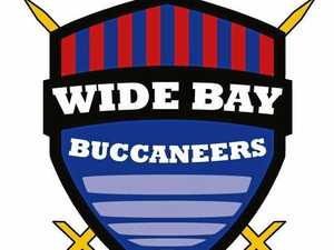 The logo for Wide Bay Buccaneers, Football Queensland Wide Bay's proposed Queensland Premier League team.