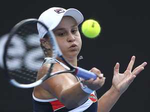 Ash Barty through round 1