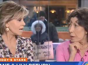 Jane Fonda hits back over facelift joke