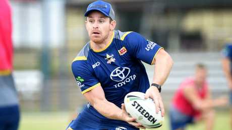 Michael Morgan is yet to agree a new deal with the Cowboys. Picture: Alix Sweeney