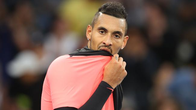Nick Kyrgios has received a fine but it didn't top the list.
