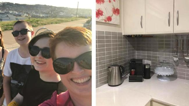 When mum Gina saw the tip shared online, she sent her husband to Bunnings and said goodbye to kitchen clutter forever.