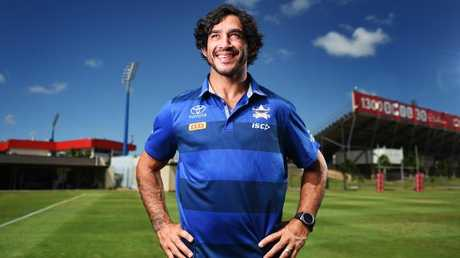 North Queensland Cowboys co-captain Johnathan Thurston. Picture: Zak Simmonds