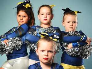 North Queensland Cowboys junior cheerleaders gone