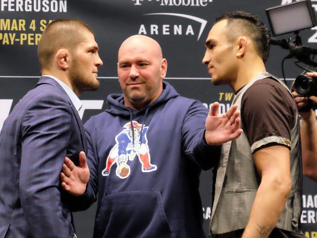 Title fight time? (Photo by Juan Cardenas/Zuffa LLC/Zuffa LLC via Getty Images)