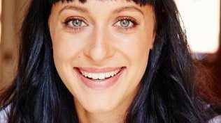 Australian actress Jessica Falkholt.