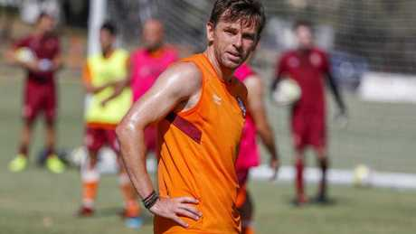 Brett Holman could return against Perth. (AAP Image/Glenn Hunt)