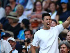 "Spectator ejected from tennis was a ""comedian"""