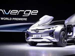The Enverge concept car unveiled at the 2018 Detroit Auto Show is from the relatively unknown Chinse brand GAC. Picture: AFP PHOTO, JIM WATSON.