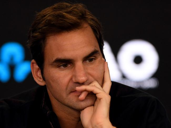 Roger Federer is just as comfortable behind the microphone as he is on the baseline.