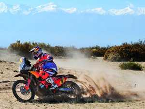 Price's Dakar hopes shattered on Stage 10