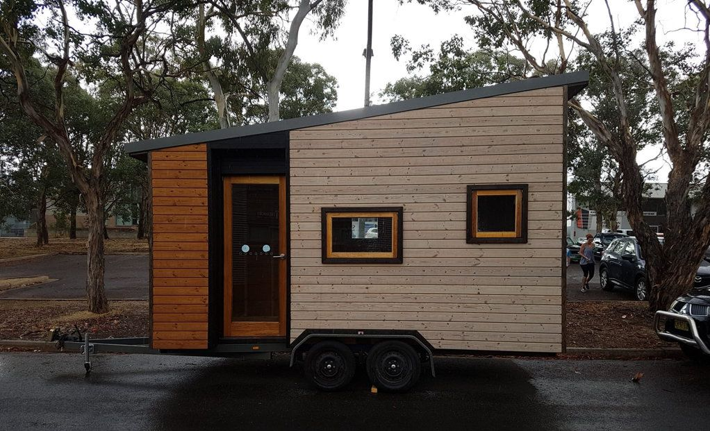 The tiny house allegedly stolen by Brendon John Rourke.