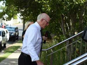 ROLLING COVERAGE: Chris Loft leaves court