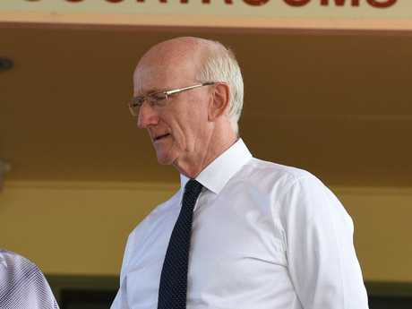 Fraser Coast Regional Council mayor Chris Loft after his first court appearance.