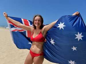 Australia Day preview. Halayna Grove flies the flag