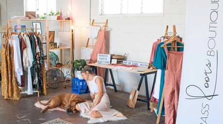ETHICAL: Natalie has founded Grass Roots Boutique which is focused on sourcing ethically-made clothing.