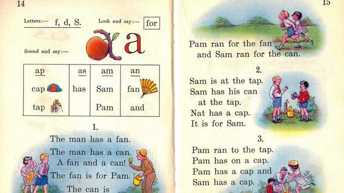 EARLY LEARNING: Remember the musty smell of school readers that passed through the hands of hundreds?